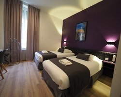 Hôtel de Biarritz - Vichy - Chambre twin